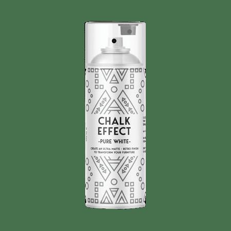 cosmoslac chalk effect pure white spray