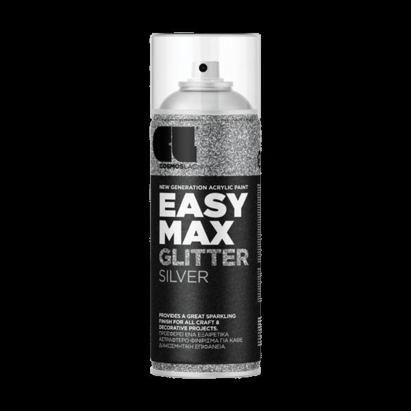 cosmoslac spray easy max glitter silver