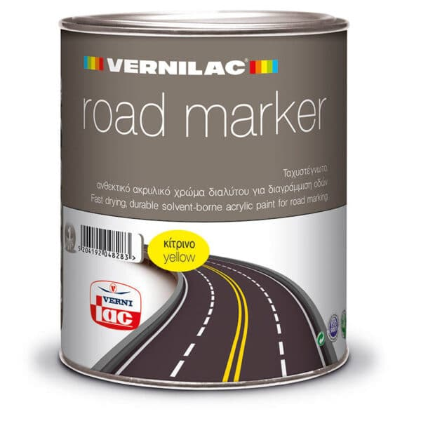 vernilac road marker 1kg yellow