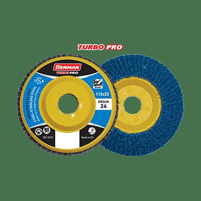 Δίσκος Φτερωτός Ίσιος Turbo Pro Πλαστική Βάση Benman