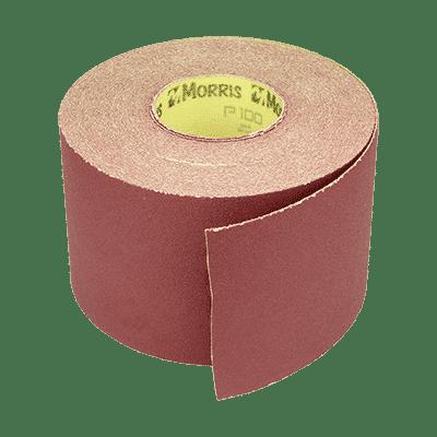 Σμυριδόχαρτο Ρολό Velcro Kόκκινο Morris