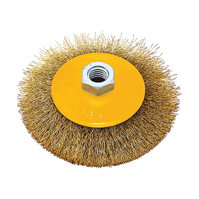 Συρματόβουρτσα Στρόγγυλη με Πάσσο Μ14 FF Group