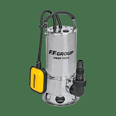 Υποβρύχια Αντλία Όμβριων Υδάτων Inox DWSP 750X FF Group
