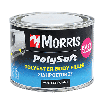 Σιδηρόστοκος 2 Συστατικών Polysoft Morris