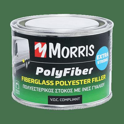 Πολυεστερικός Στόκος με Ίνες Γυαλιού Polyfiber Καφέ/Γκρί Morris
