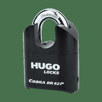 Λουκέτο Συνδυασμού Μασίφ Ατσάλι Hugo Cobra DR 62P
