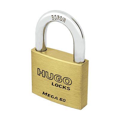 Λουκέτο Ορειχάλκινο Hugo Mega 3 Κλειδιά