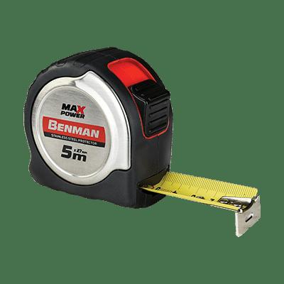 Μέτρο Maxpower 5mx27mm Benman
