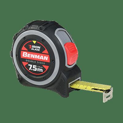 Μέτρο Ρολό Iron Blade Διπλής Όψης Benman