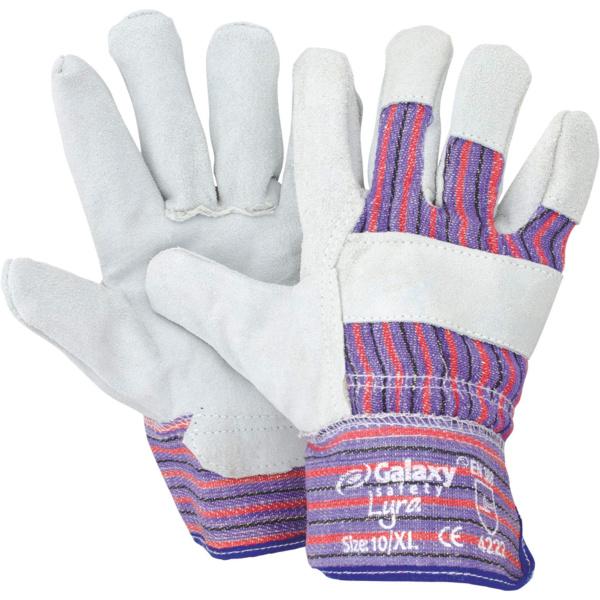 Γάντια Δερματοπάνινα Lyra