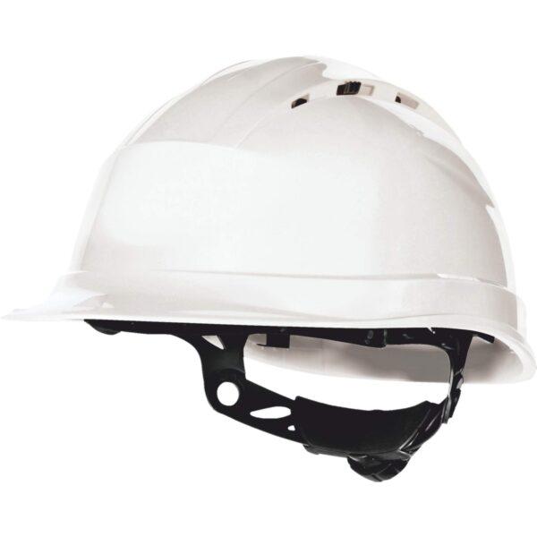 Κράνος Εργοταξίου Quartz Up IV Λευκό