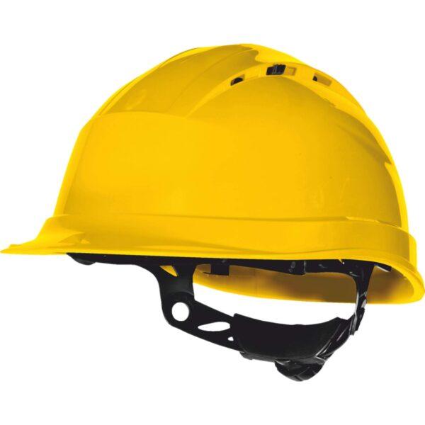 Κράνος Εργοταξίου Quartz Up IV Κίτρινο