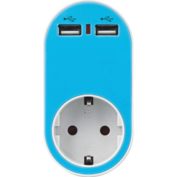 Αντάπτορας Ασφαλείας σε Σούκο με 2 USB
